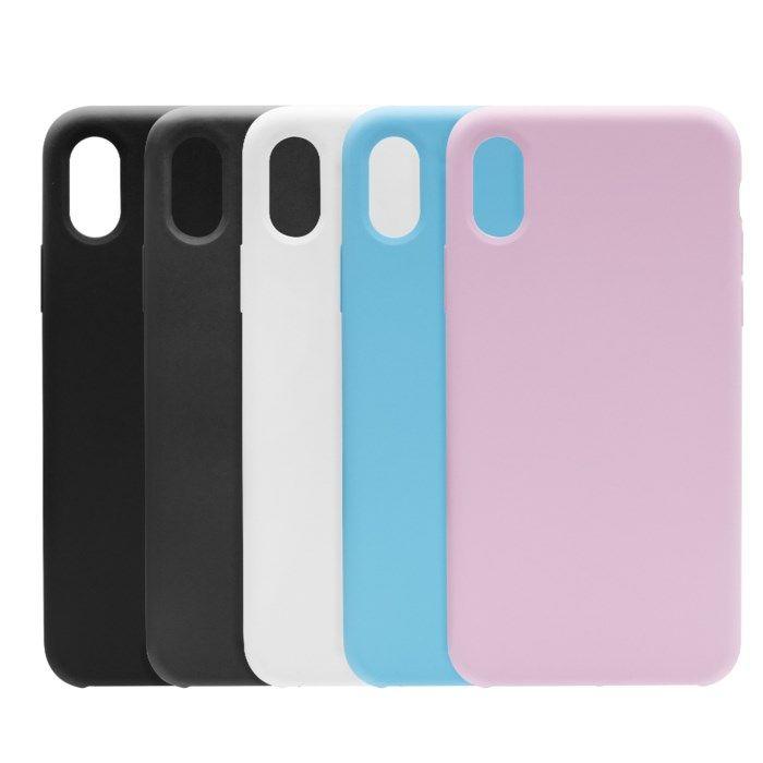 Linocell Elite Rubber Mobilskal för iPhone X och Xs Svart