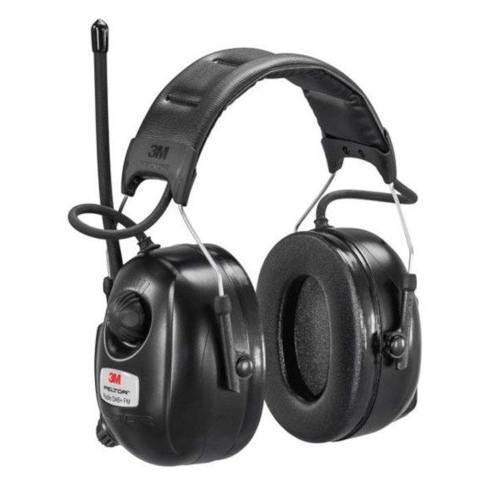 3M Peltor Hörselkåpor med Dab+ och FM-radio