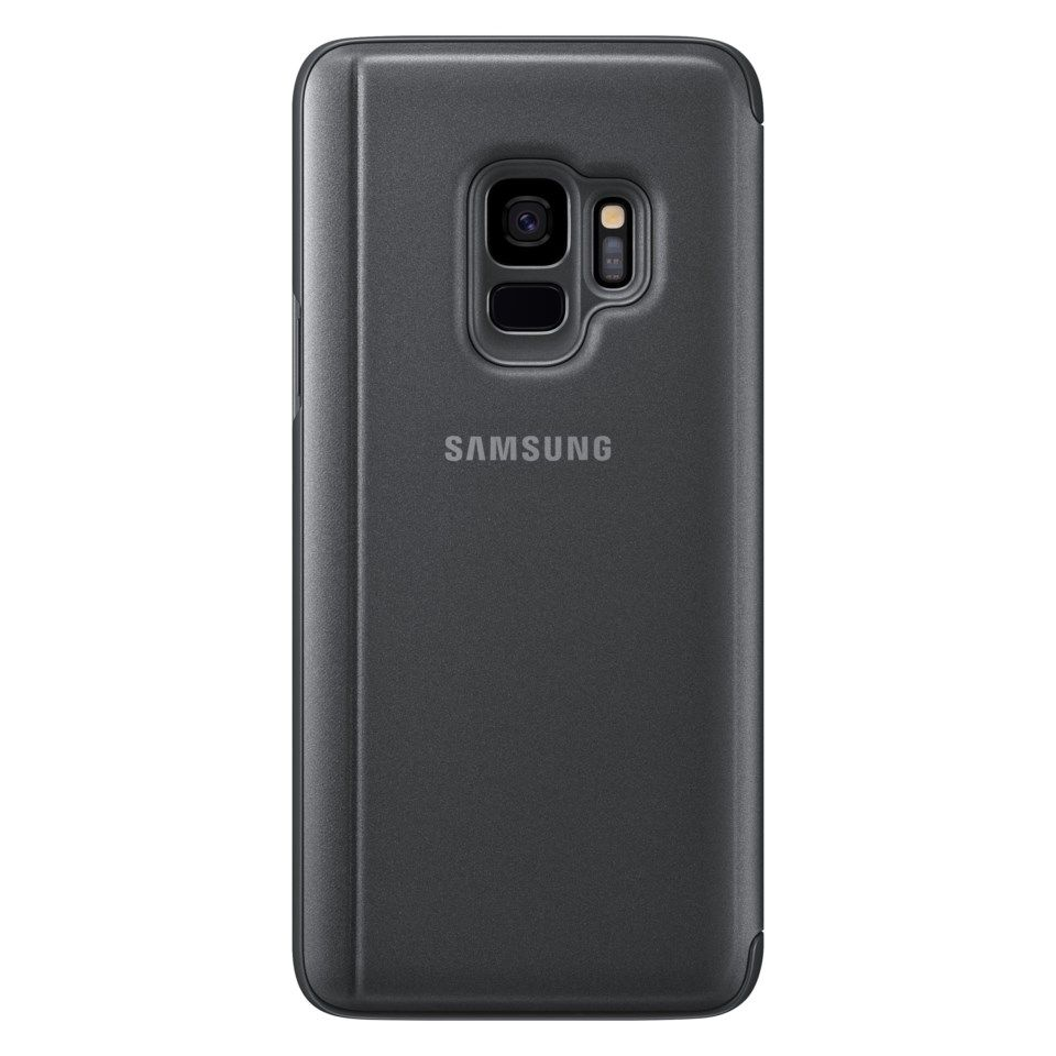 Samsung Clear View Mobiletui for Galaxy S9 Svart