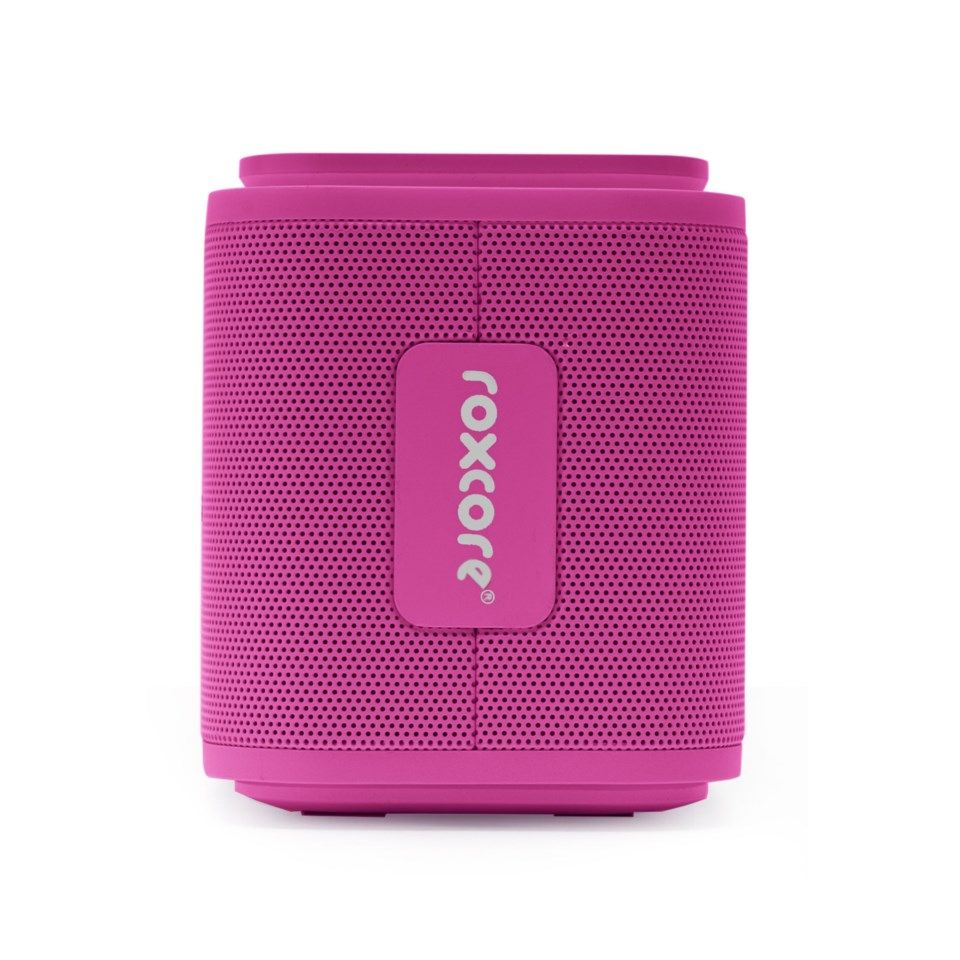 Roxcore Halo Portabel Bluetooth-høyttaler Rosa