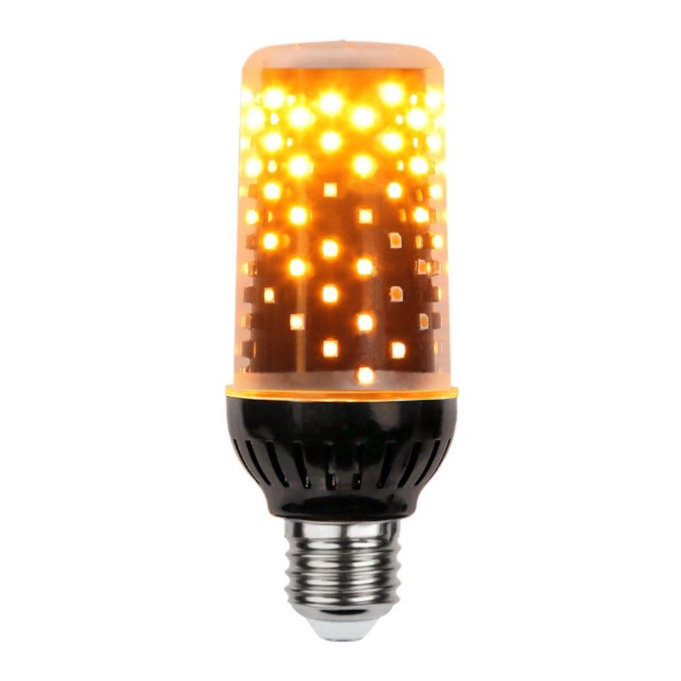 LED lampa med flammande sken E27 300 lm LED lampor  