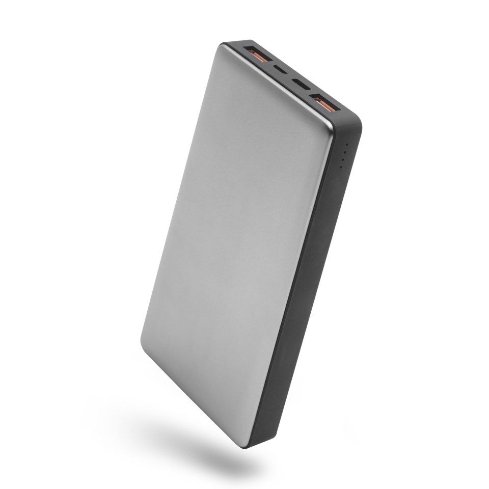 Linocell Premium Powerbank med Quick Charge 3.0 och USB-C PD 15000 mAh