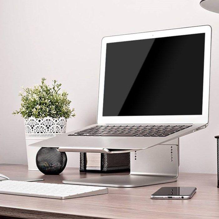 Plexgear Ställ för bärbar dator upp till 14