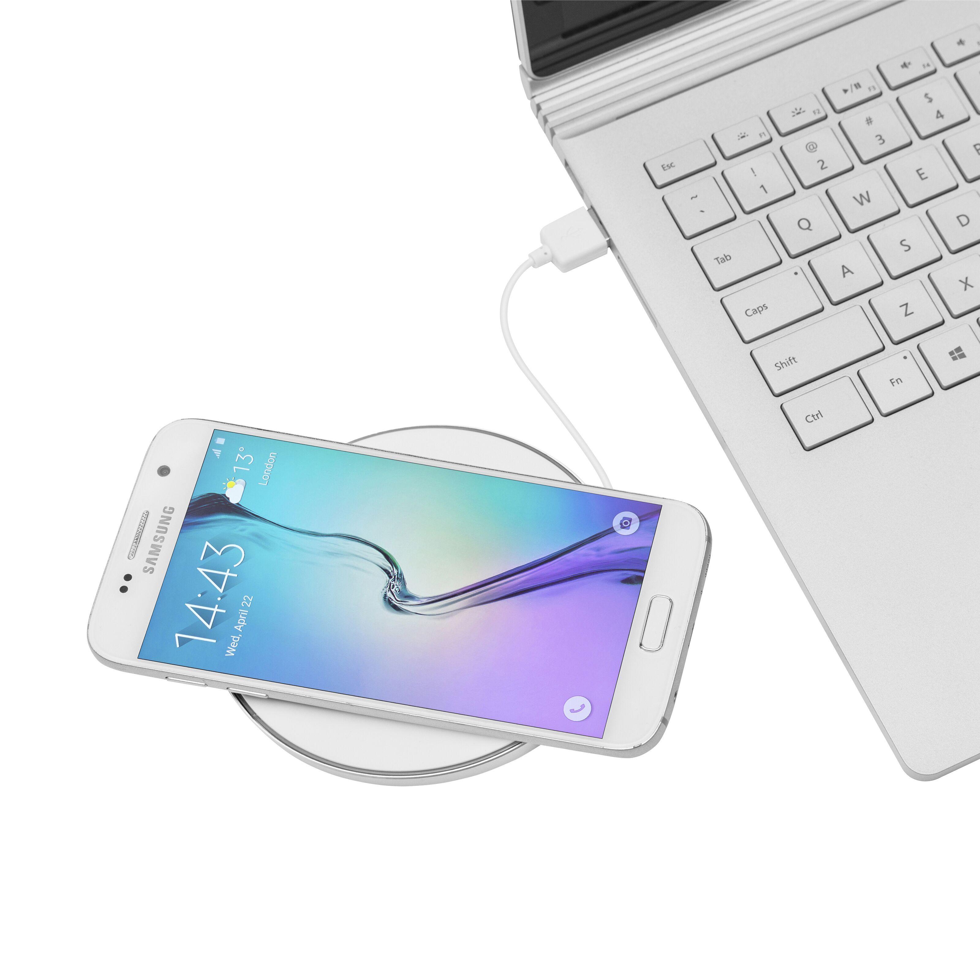 Samsung trådlös laddare svartvit