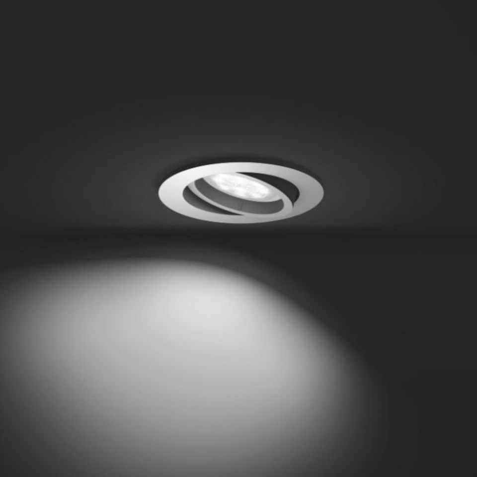 Philips Hue Milliskin Spotlight Vit