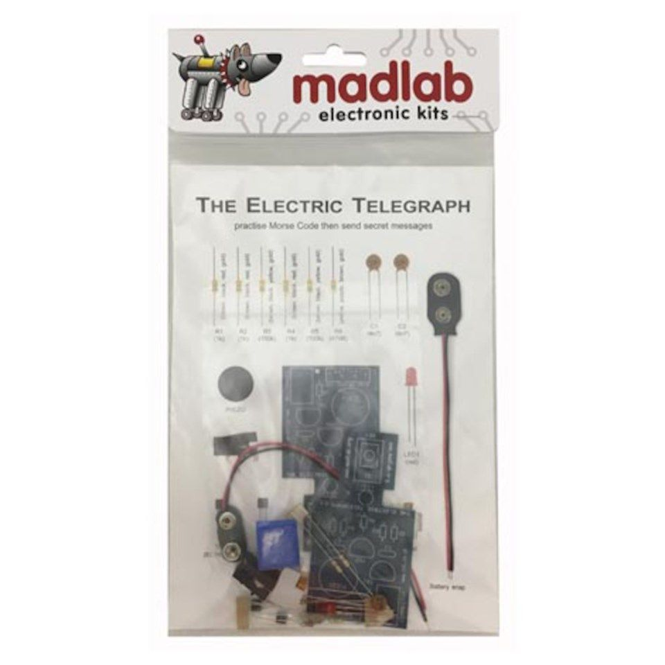 Madlab Electric Telegraph Byggsats