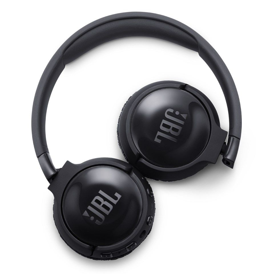 JBL Tune 600BTNC Bluetooth-headset med aktiv brusreducering Svart