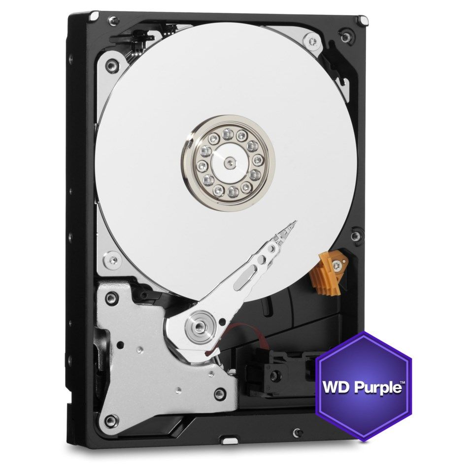 "WD Purple Intern harddisk 3,5"" 1 TB"