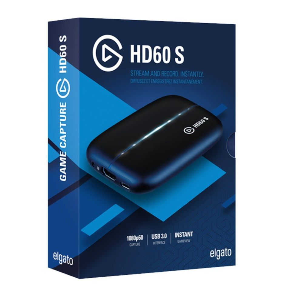Elgato Game Capture HD60 S Innspillingskort
