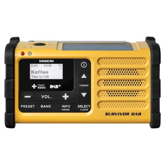 Sangean Dynamoradio för FM- och DAB+-signal