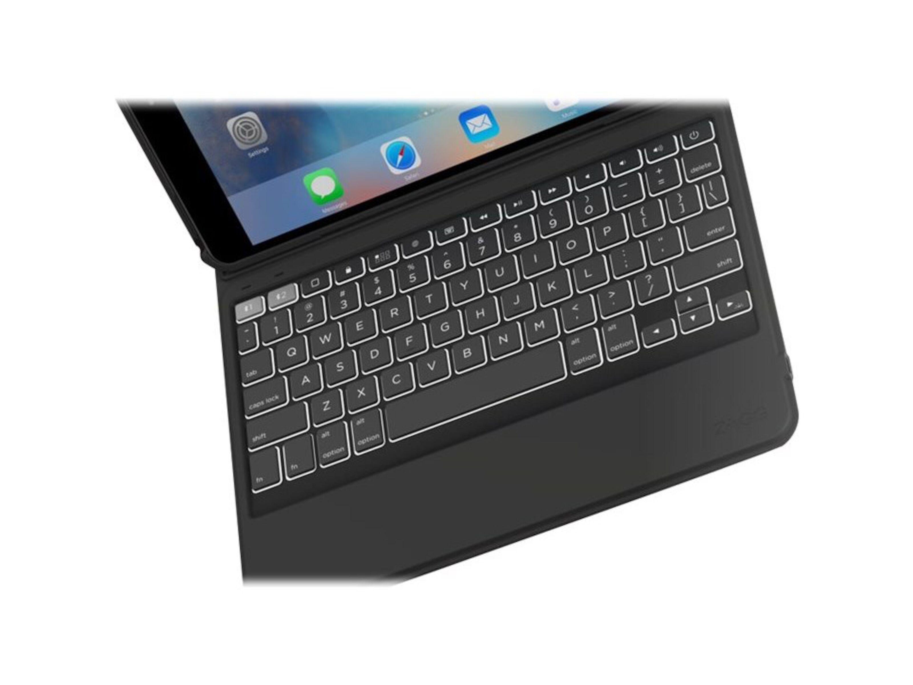 Zagg Rugged Messenger Etui med tastatur for iPad 9,7 2017
