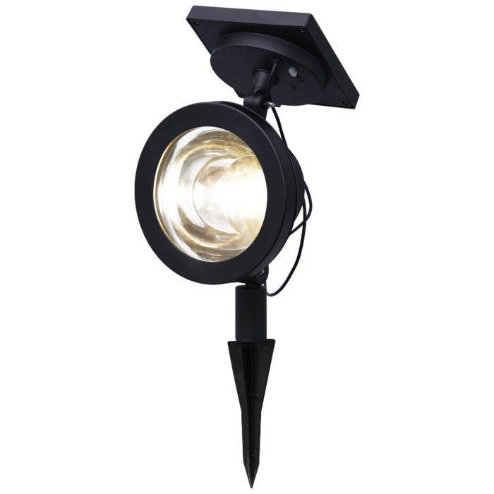 Solcellsdriven LED-spotlight 30 lm