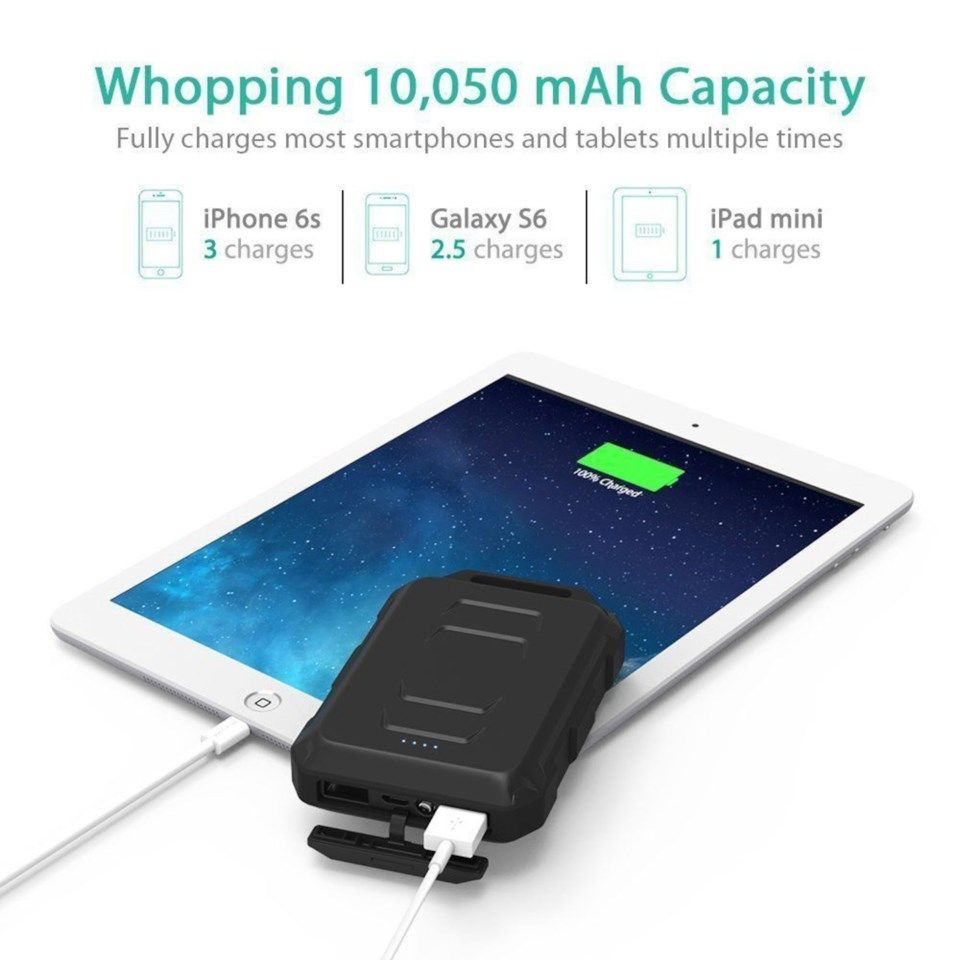 Ravpower Rugged Powerbank 10 050 mAh