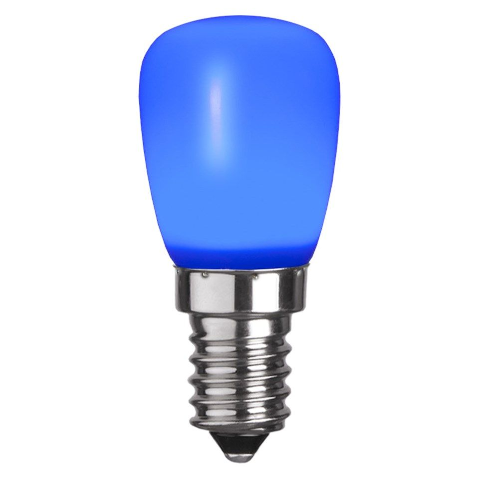 Färgglad LED lampa E14 Blå