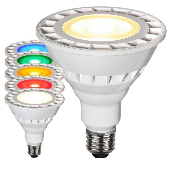 LED-lampa PAR38 E27 Vit (4000 K)
