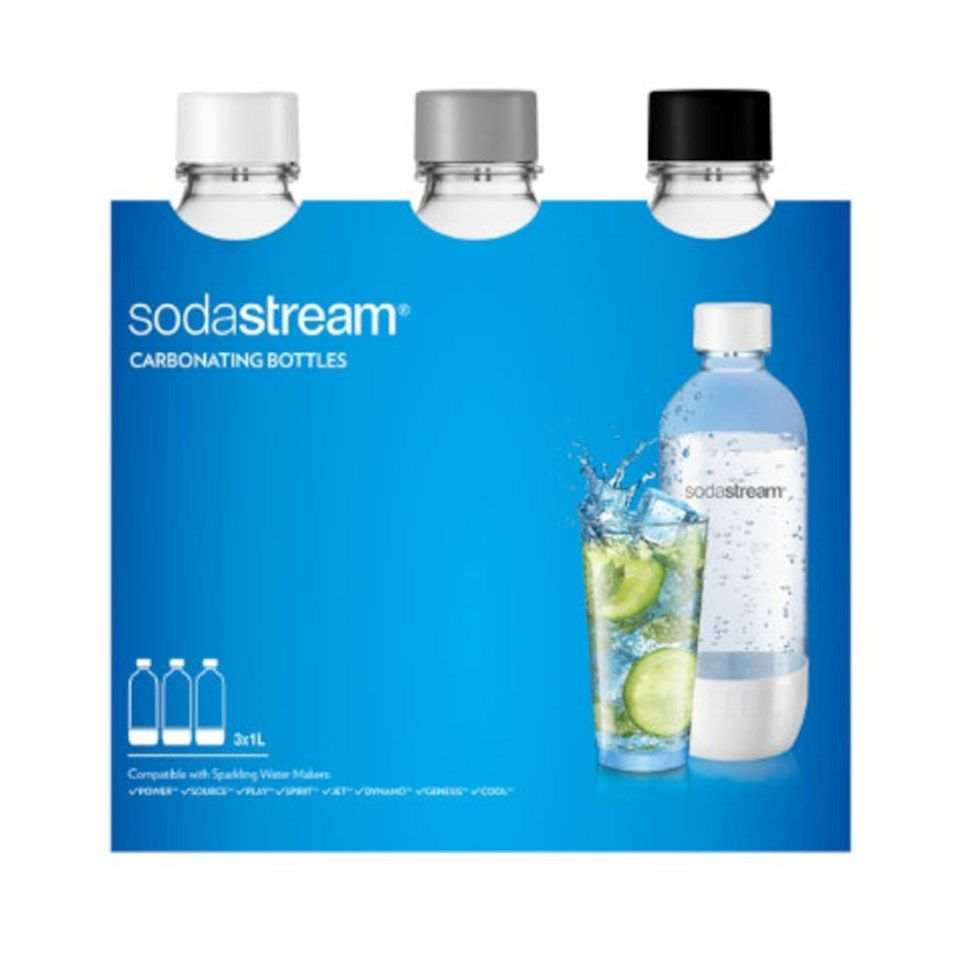 Sodastream Flaska 1 l 3-pack