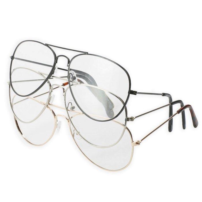 Läsglasögon pilotmodell 3-pack +200