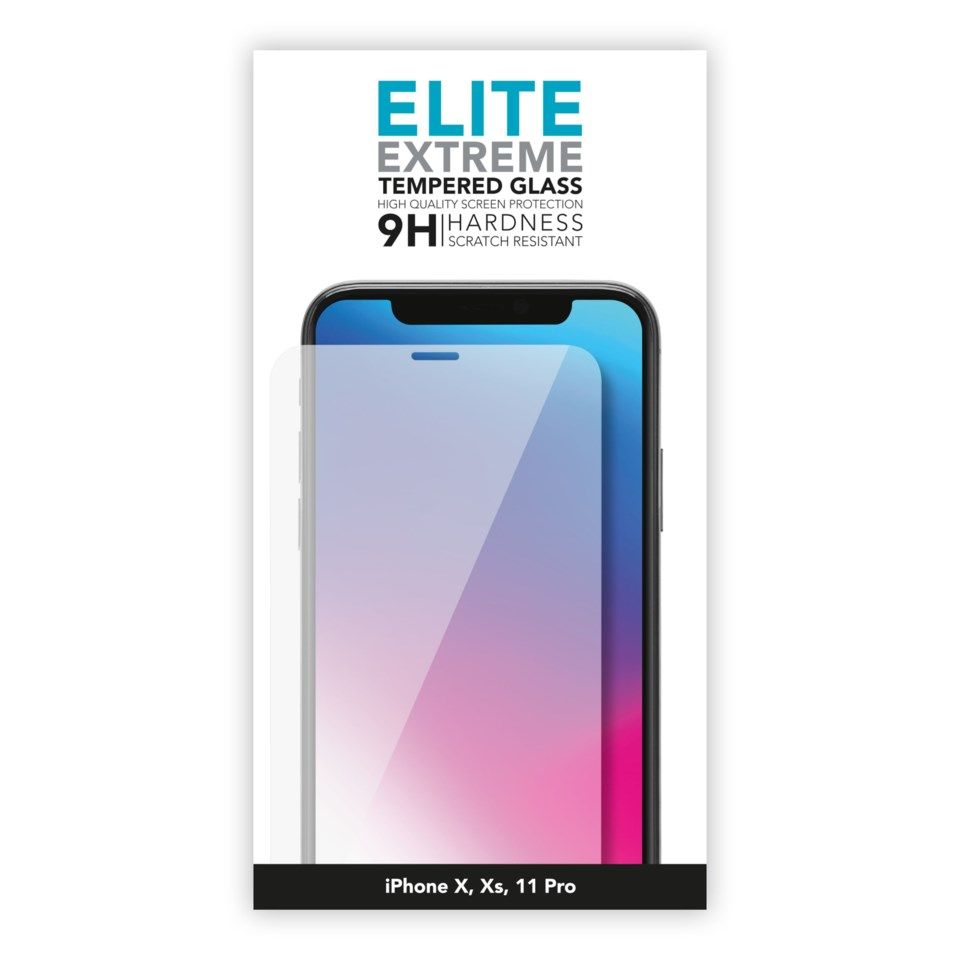 Linocell Elite Extreme Skjermbeskytter for iPhone X, Xs og 11 Pro