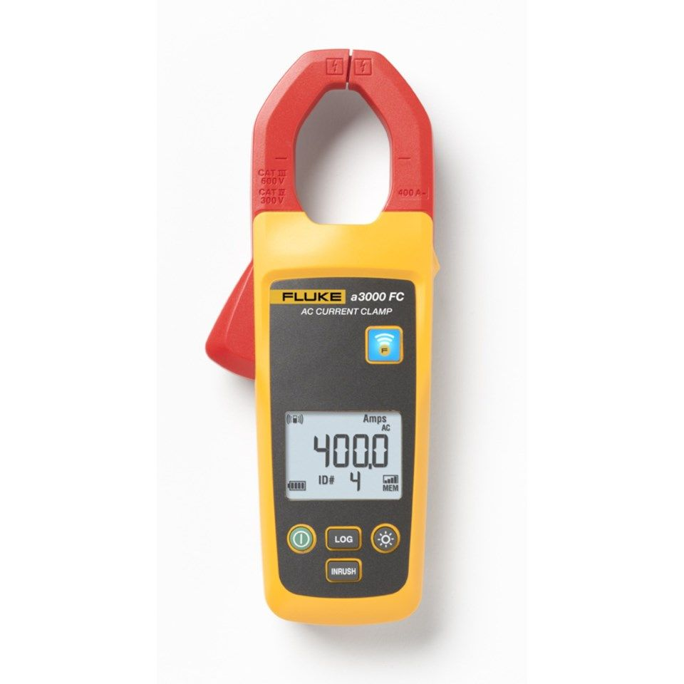 Fluke A3000 FC Essential kit Multimeter og strømtang