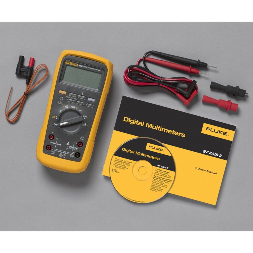 Fluke 28 II Industrielt multimeter