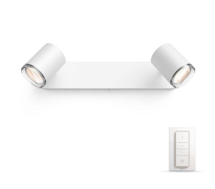 Philips Hue Adore LED-armatur 2 spotlights