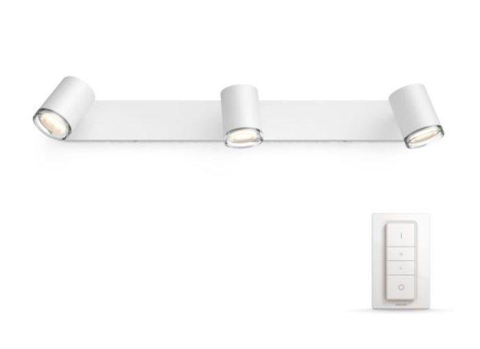 Philips Hue Adore LED-armatur 3 spotlights