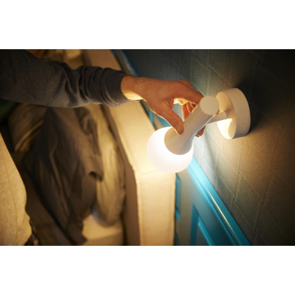 Philips Hue Explore Vegglampe Hvit | Dustinhome.no