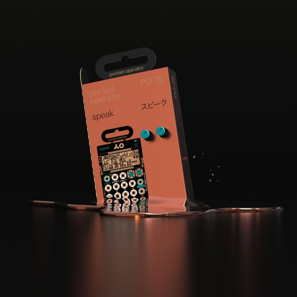 Teenage Engineering PO-35 Speak Syntheziser