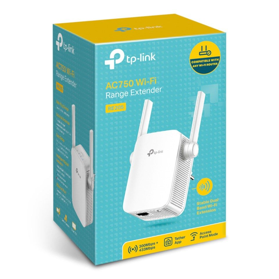 TP-link RE205 Wifi-repeater AC750