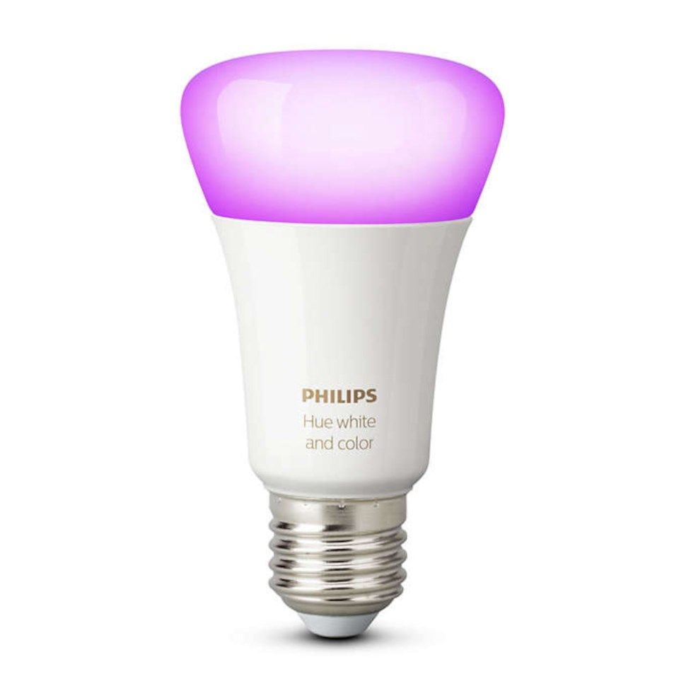 Philips Hue Smart LED-lampa RGB E27 806 lm 1-pack