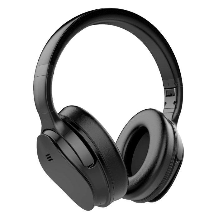Roxcore Avenue Silence Over-ear-hörlurar med aktiv brusreducering Svart
