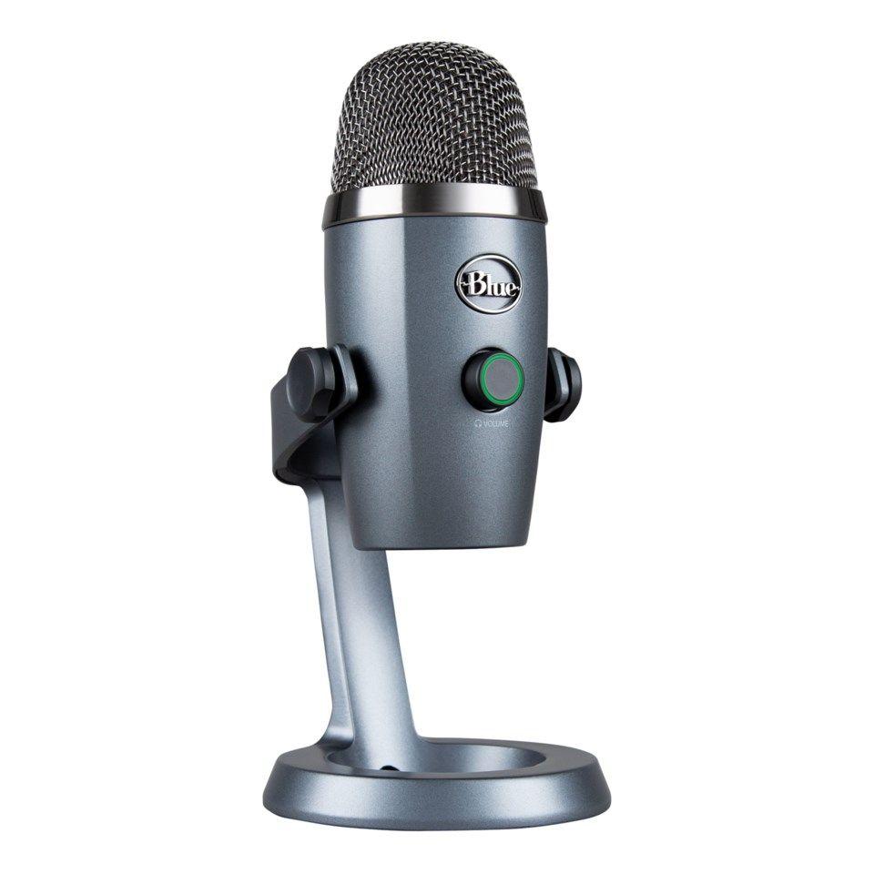 Blue Microphones Yeti Nano USB mikrofon Streaming tilbehor