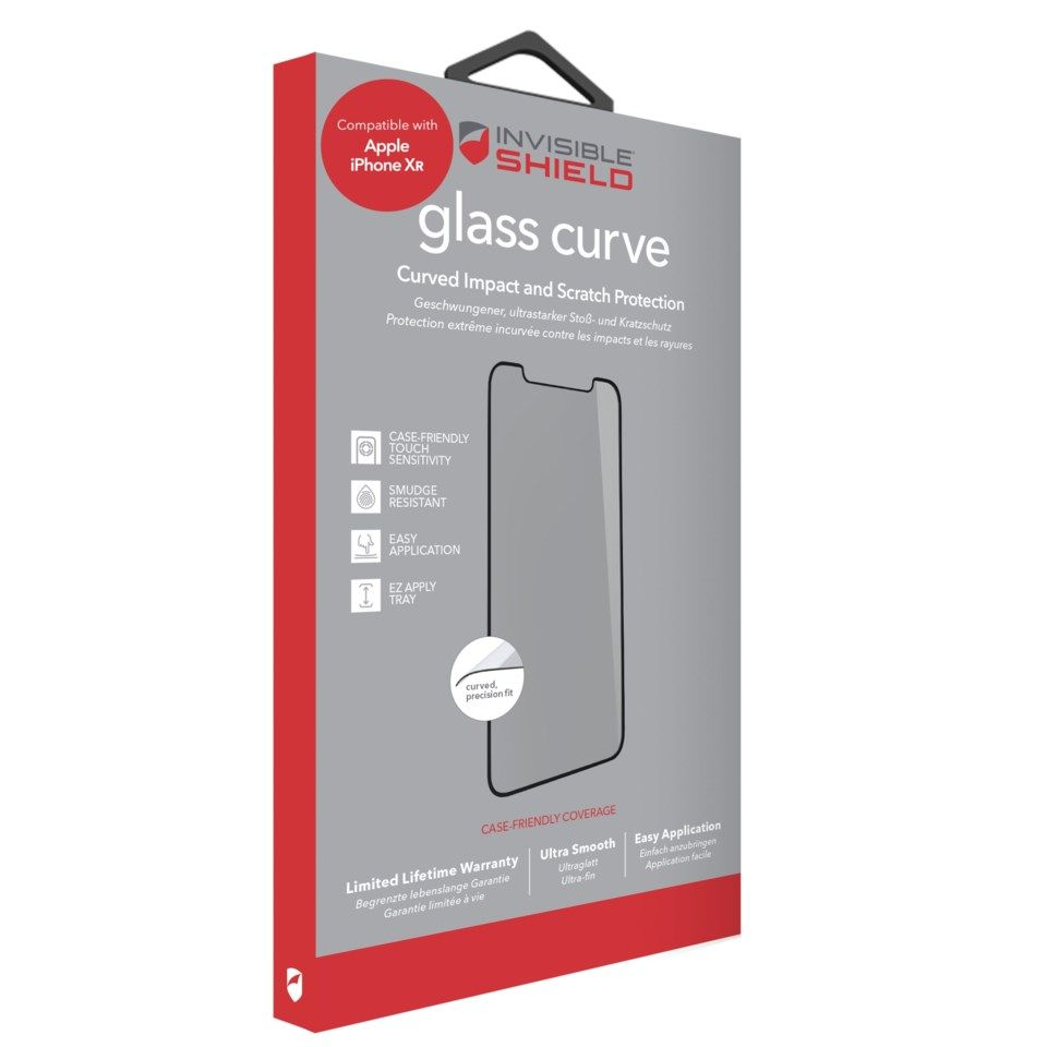 Invisible Shield Glass Curve Skjermbeskytter for iPhone Xr