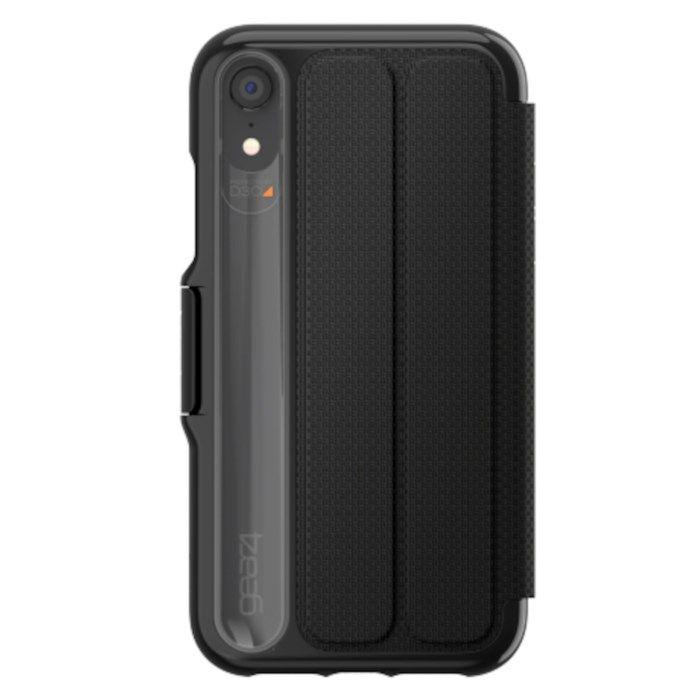Gear4 Oxford Tålig mobilplånbok för iPhone Xr
