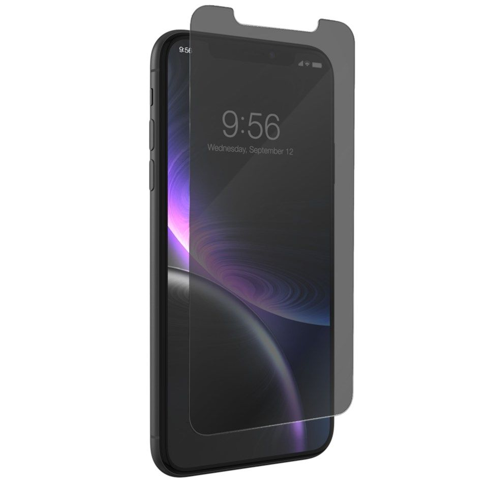 Invisible Shield Glass+ Privacy Skjermbeskytter for iPhone Xr