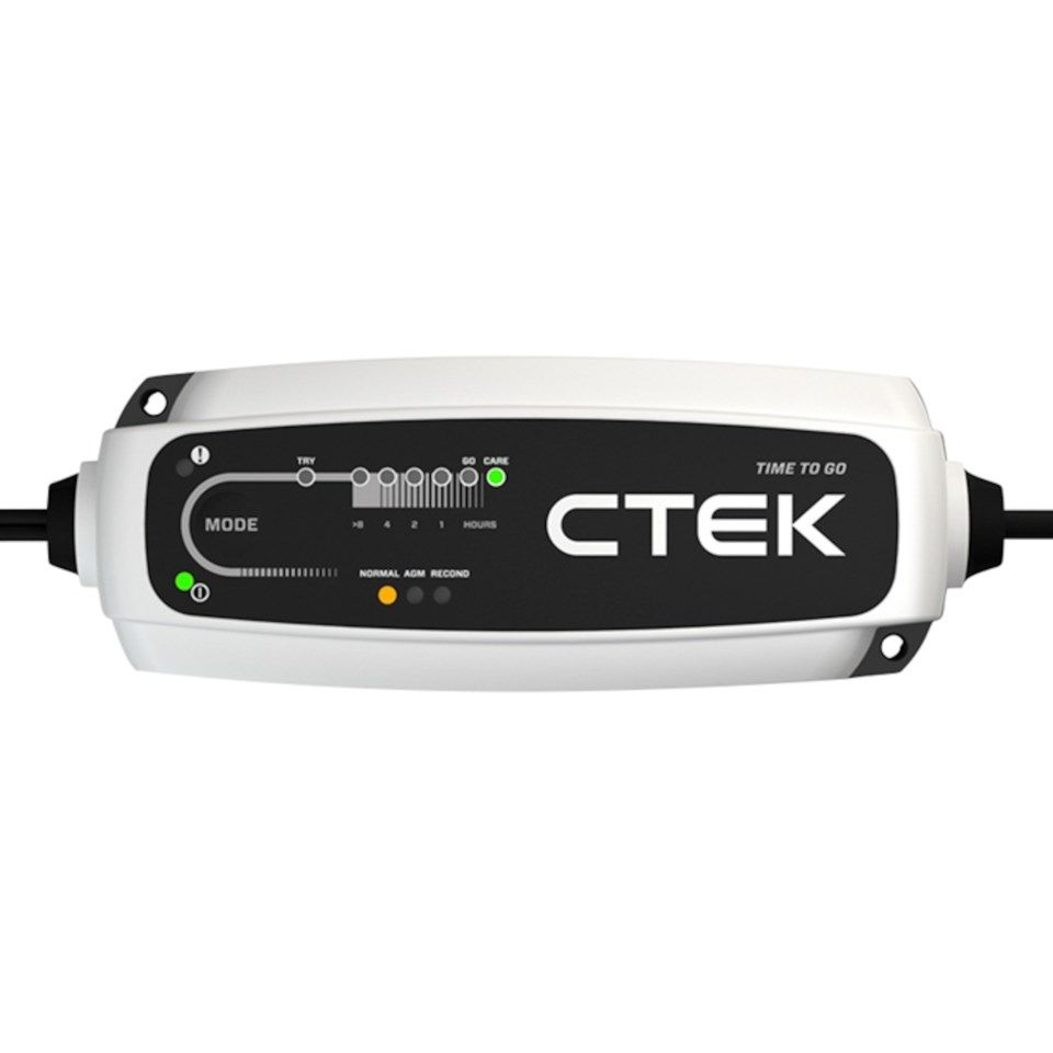 Ctek CT5 Time to go Batterilader 5 A