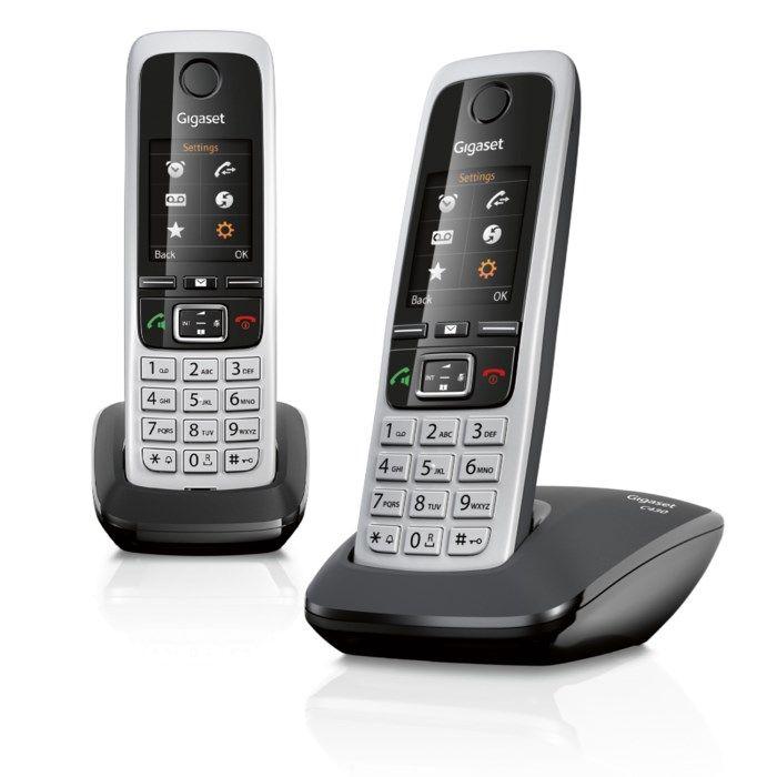 Gigaset C430 Trådlös telefon 2-pack