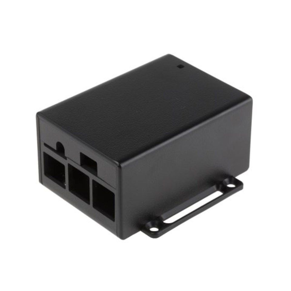 Raspberry Pi POE Hat Case Kabinett for Pi 3 Model B og B+