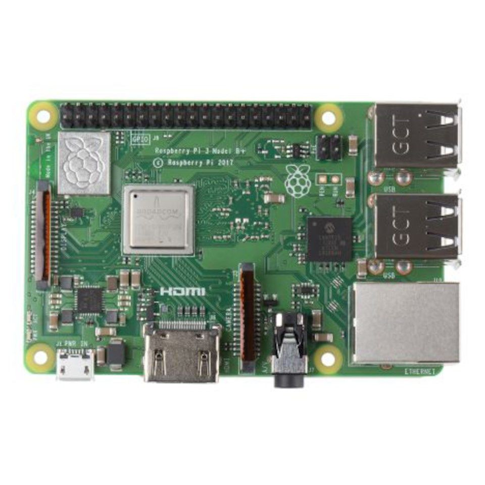 Raspberry Pi 3 Model B+ Premium Kit Enkortsdator