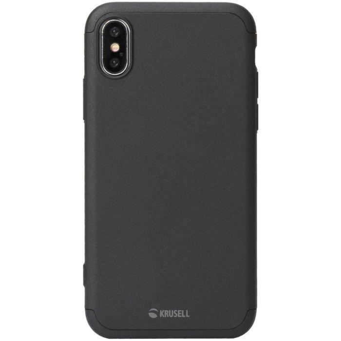 Krusell Arvika 3.0 Mobilskal och skärmskydd för iPhone Xr