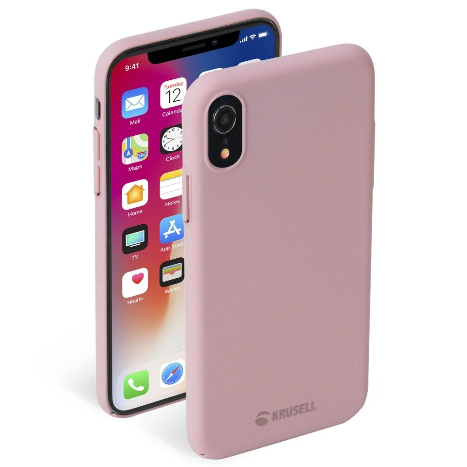 Krusell Sandby Mobildeksel for iPhone Xr Rosa