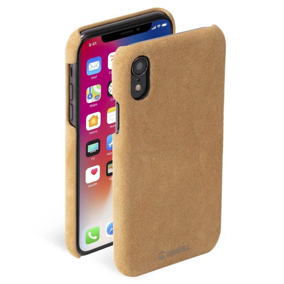 Krusell Broby Mobildeksel for iPhone Xr Brun