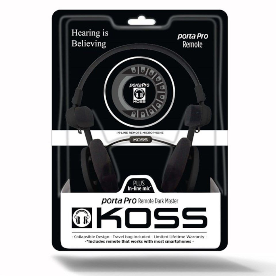 Koss Porta Pro 3.0 On-ear-headset Svart