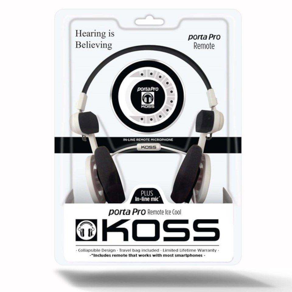 Koss Porta Pro 3.0 On-ear-headset Vit