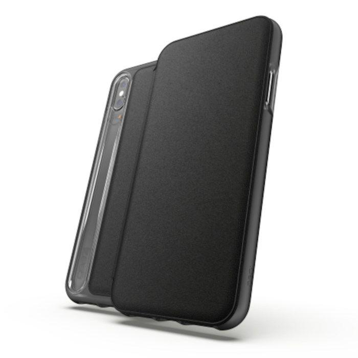 Gear4 Oxford Leather Tålig mobilplånbok för iPhone Xs Max