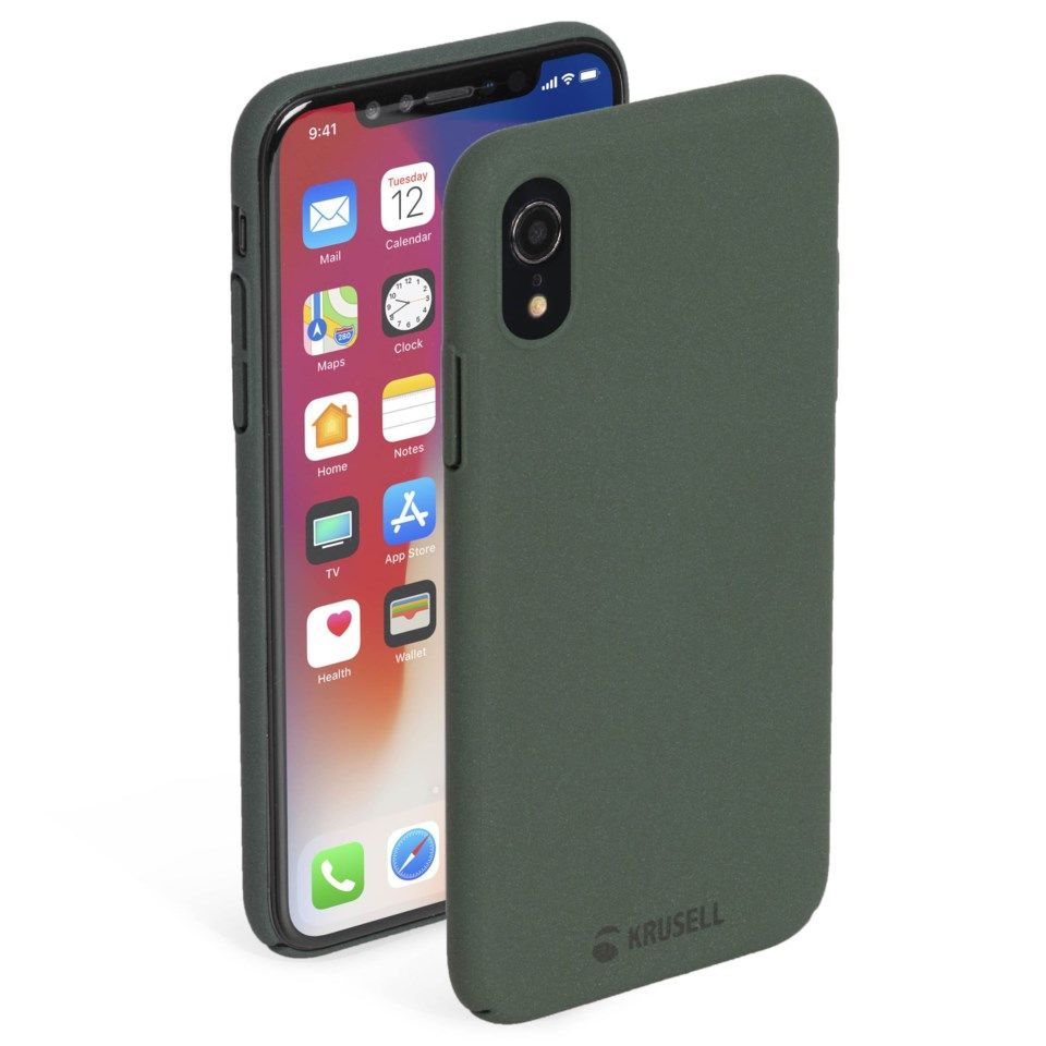 Krusell Sandby Mobildeksel for iPhone Xr Grønn