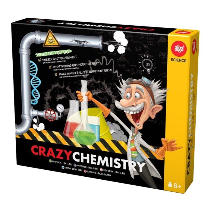 Alga Crazy Chemistry Kemilåda med experiment