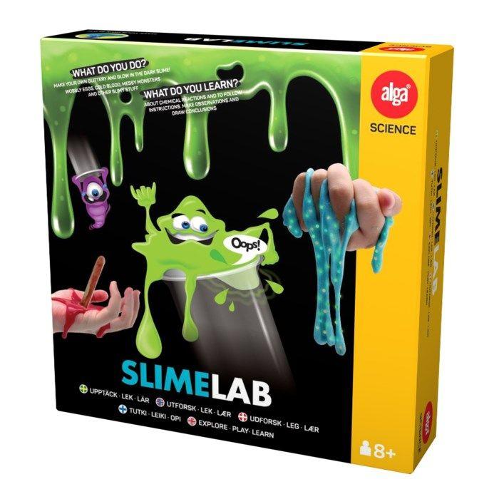 Alga Slime Lab Experimentlåda med slime