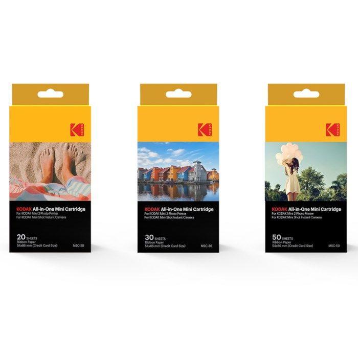 Kodak Fotopapper till fotoskrivare och kamera 20-pack