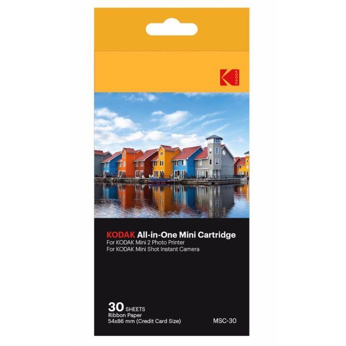 Kodak Fotopapper till fotoskrivare och kamera 30-pack